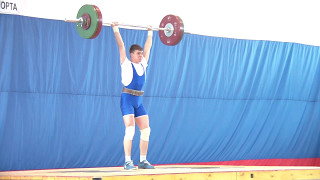 Артём Комаров, вк 69 Толчок 100 кг 2 подход г  КаменскУральский