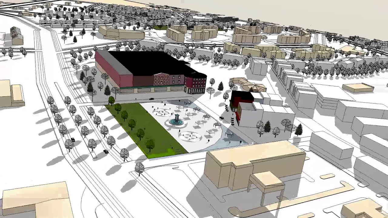 Hull street road urban design plan animation youtube Urban design vs urban planning