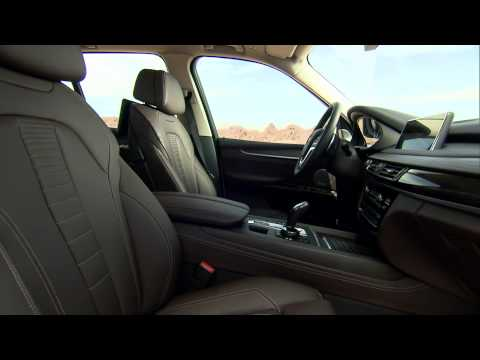 2014 BMW X5 Interior footage