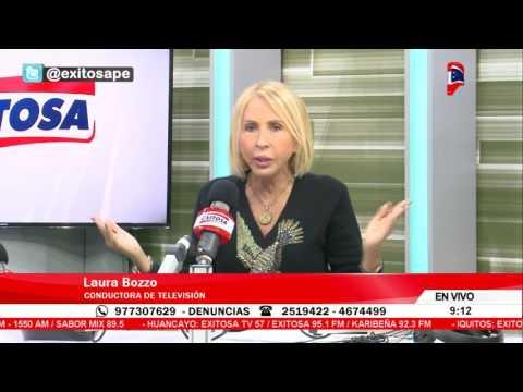 "Laura Bozzo: ""Exijo que se le dé libertad a Fujimori"""