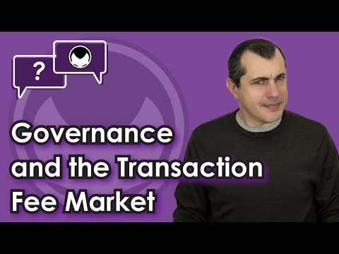 Bitcoin Q&A: Governance and the transaction fee market