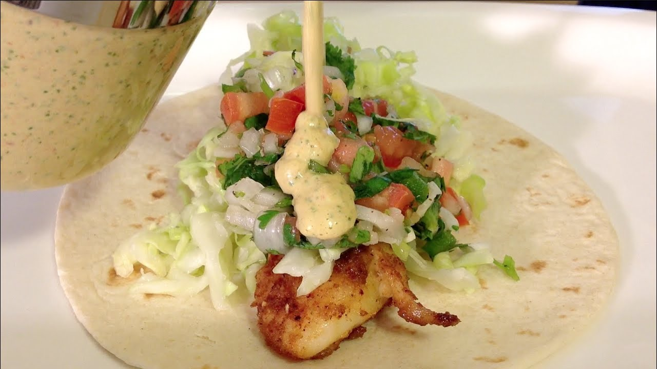 Fish tacos recipe how to make mexican food recipes pico de for Making fish tacos