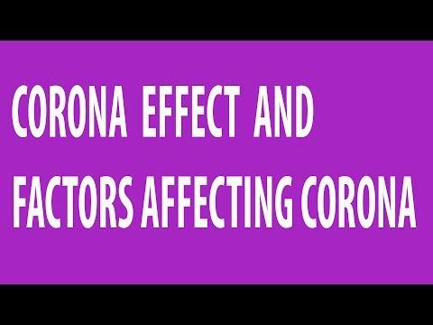 What is Corona effect ? - YouTube