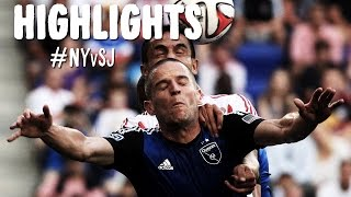 HIGHLIGHTS: New York Red Bulls vs San Jose Earthquakes | July 19, 2014