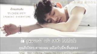 [Karaoke-Thaisub] CHEN (첸) x Punch (펀치) – Everytime
