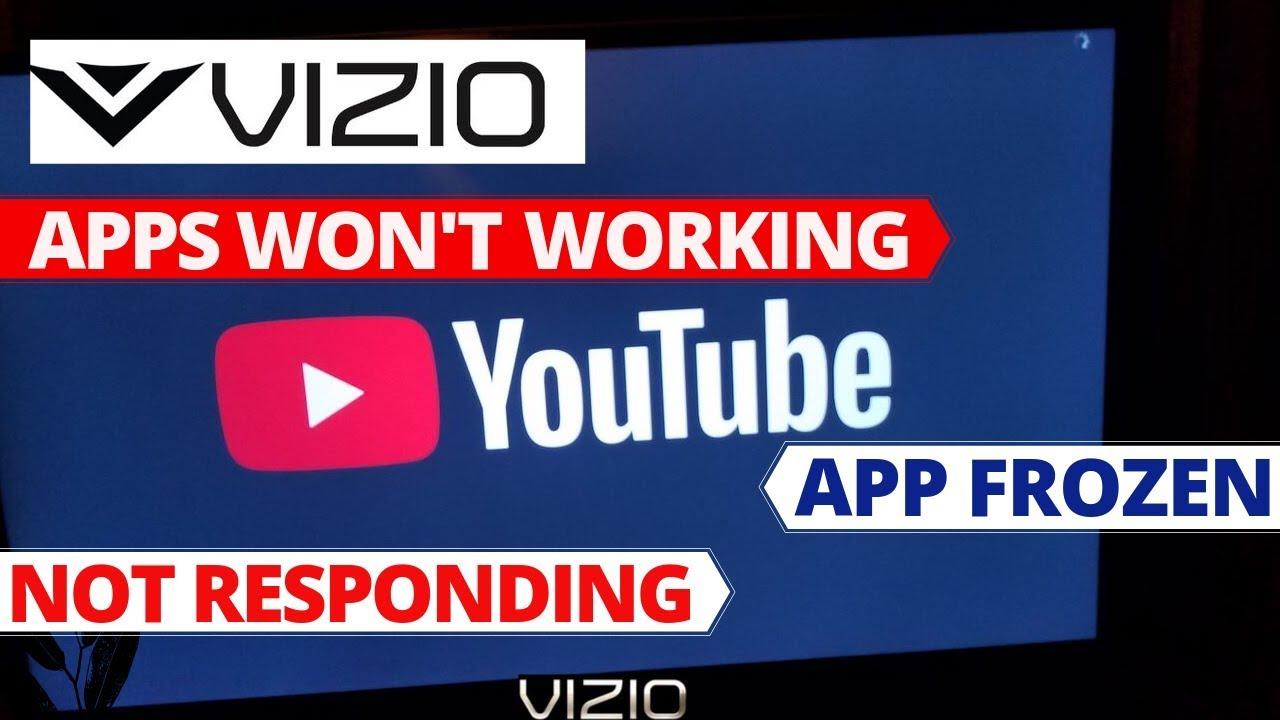 How to Fix Apps Not Working on VIZIO Smart TV || VIZIO TV Common Problems &  Fixes