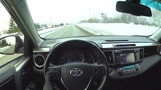 2013 Toyota Rav4 2.5 Pov Test Drive
