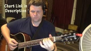 Perfect Two (Auburn) Guitar Chord Chart - G D Em C