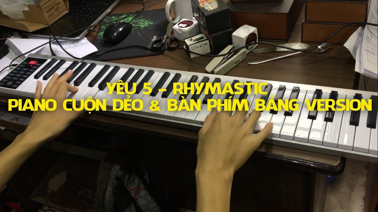 Yêu 5 – Konix PZ61 – Đàn Piano Điện 61 phím cảm ứng lực Midi Keyboard Controllers