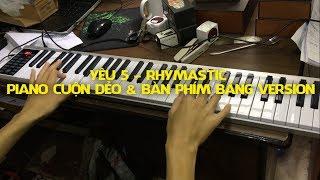 Yêu 5 - Piano cuộn dẻo & Bàn phím bảng Version - Konix Flexible PZ61 - Midi Keyboard Controllers