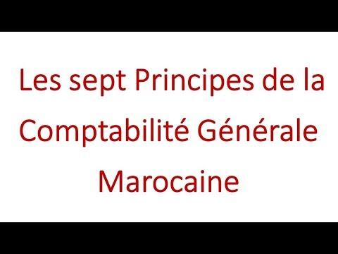 10- comptabilité générale: Les principes de la comptabilité générale marocaine
