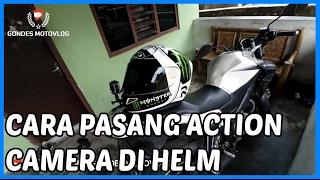 Cara Memasang Action Camera Gopro di Helm di HJC RPHA 11