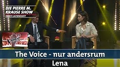 """The Voice - nur andersrum"" mit Lena 