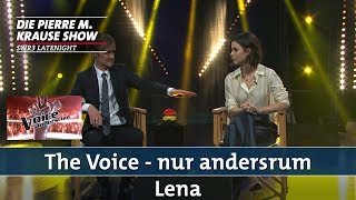 """The Voice – nur andersrum"" mit Lena"