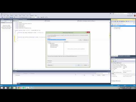 Web Services in ASP.NET using Microsoft Visual Studio Express for Web 2013