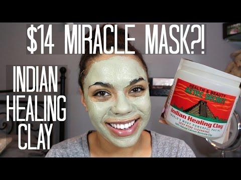 Aztec Secret Indian Healing Clay Review + Demo | samantha jane