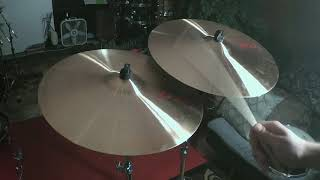 "paiste PST 7 20"" ride (VS) PST 7 20"" light ride cymbals"