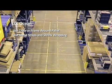 How to properly package shipments for international and domestic transport