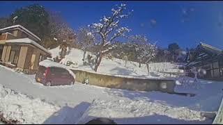 VR 排土板付き軽トラで雪かき thumbnail