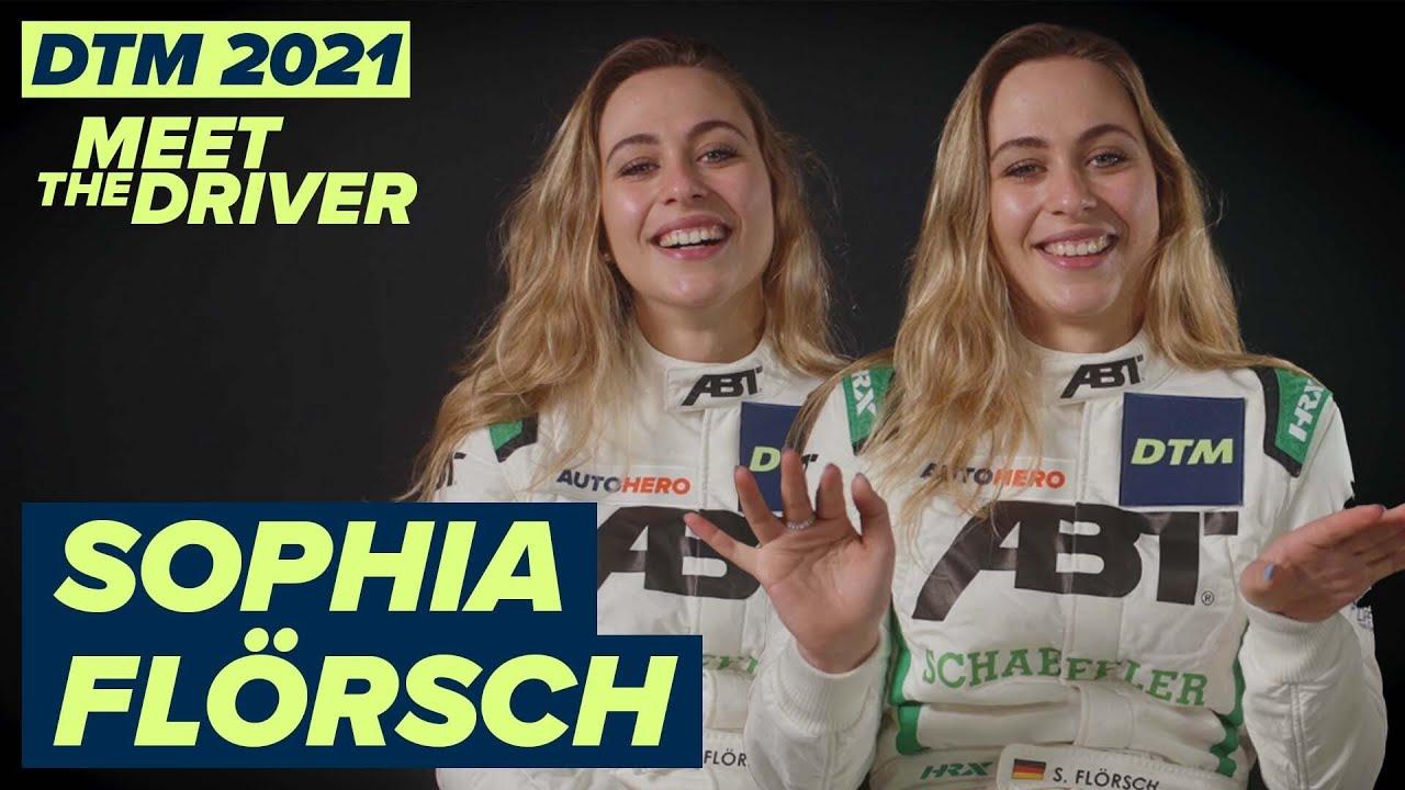 """I'm not really good in parking""   Sophia Flörsch   #MeetTheDrivers of #DTM2021"