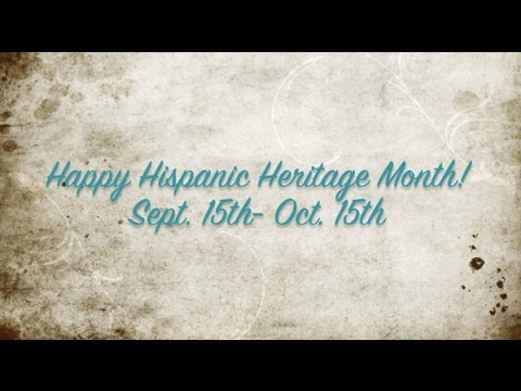 What Hispanic Heritage Month means and how anyone can ...