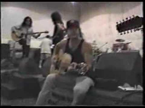 kiss unplugged rehearsals