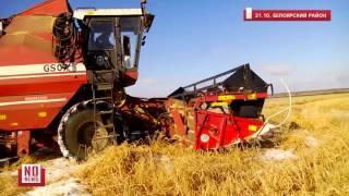 Уборка зерновых в разгаре. Октябрь на Урале