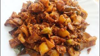 Kanava /Koonthal/ Squid Fry- chinnuz' I Love My Kerala Food