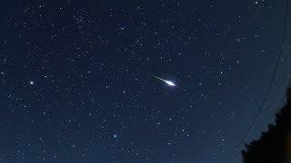 明け方の火球と春の大三角 火球 検索動画 26