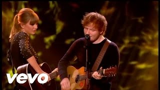 Everything Has Changed - LEGENDADO - Taylor Swift ft Ed Sheeran - Britain