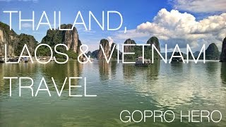 Thailand Laos & Vietnam GoPro Travel | 1 Month Adventure