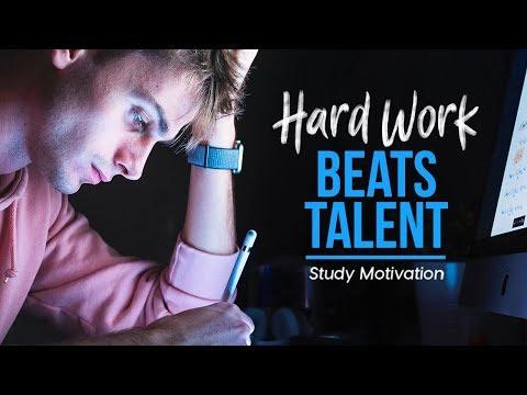 HARD WORK BEATS TALENT - School Motivation