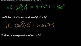 Finding a Specific Coefficient or Term in a Binomial Expansion