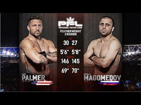 PFL Full Fight Friday: Lance Palmer vs. Bekbulat Magomedov from PFL 1: NYC