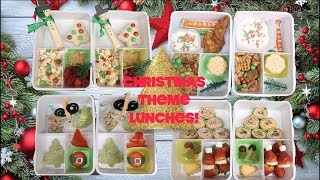 I'm Back!  Christmas Theme Lunches!! Real Mom Life! School Lunch Ideas