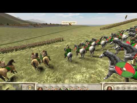 Rome - Total War : Галлия. #2 - Повстанцы и первая стычка с Римом