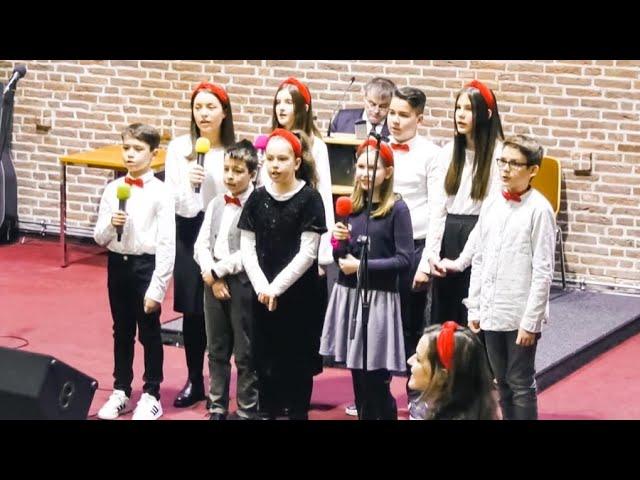 Poem de Crăciun Grupa mare Biserica Elim Frankfurt 2020