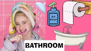 BATHROOM Слова по теме Ванная Комната на Английском