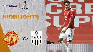 Manchester United 2-1 LASK | Europa League 19/20 Match Highlights