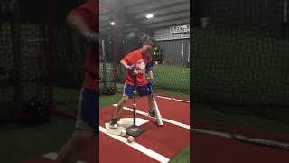 Baseball hitting drill
