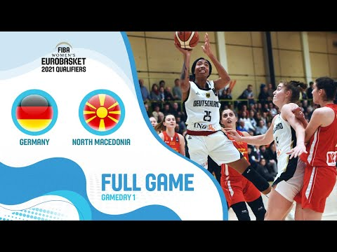 Germany v North Macedonia - Full Game - FIBA Women's EuroBasket 2021 Qualifiers