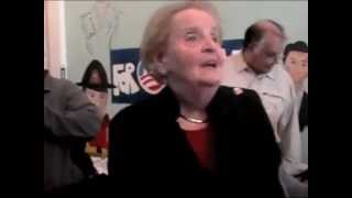Video: Madeleine Albright Today on the Killing of Children
