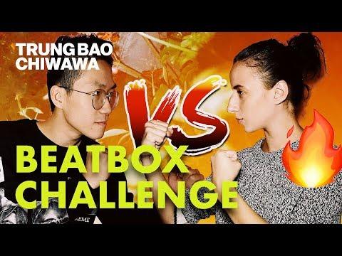 My Girlfriend Can Beatbox Better Than Me 😱 | Beatbox Challenge - Trung Bao & Chiwawa