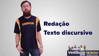DICAS PARA A REDAÇÃO - VESTIBULAR 2019