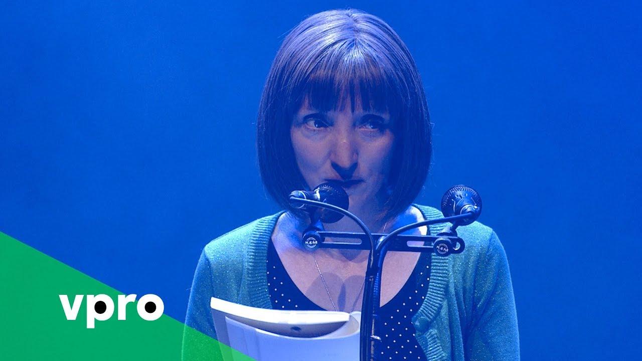 Delphine Lecompte Op De Nacht Van De Poezie 2018 Vpro Poezie Youtube