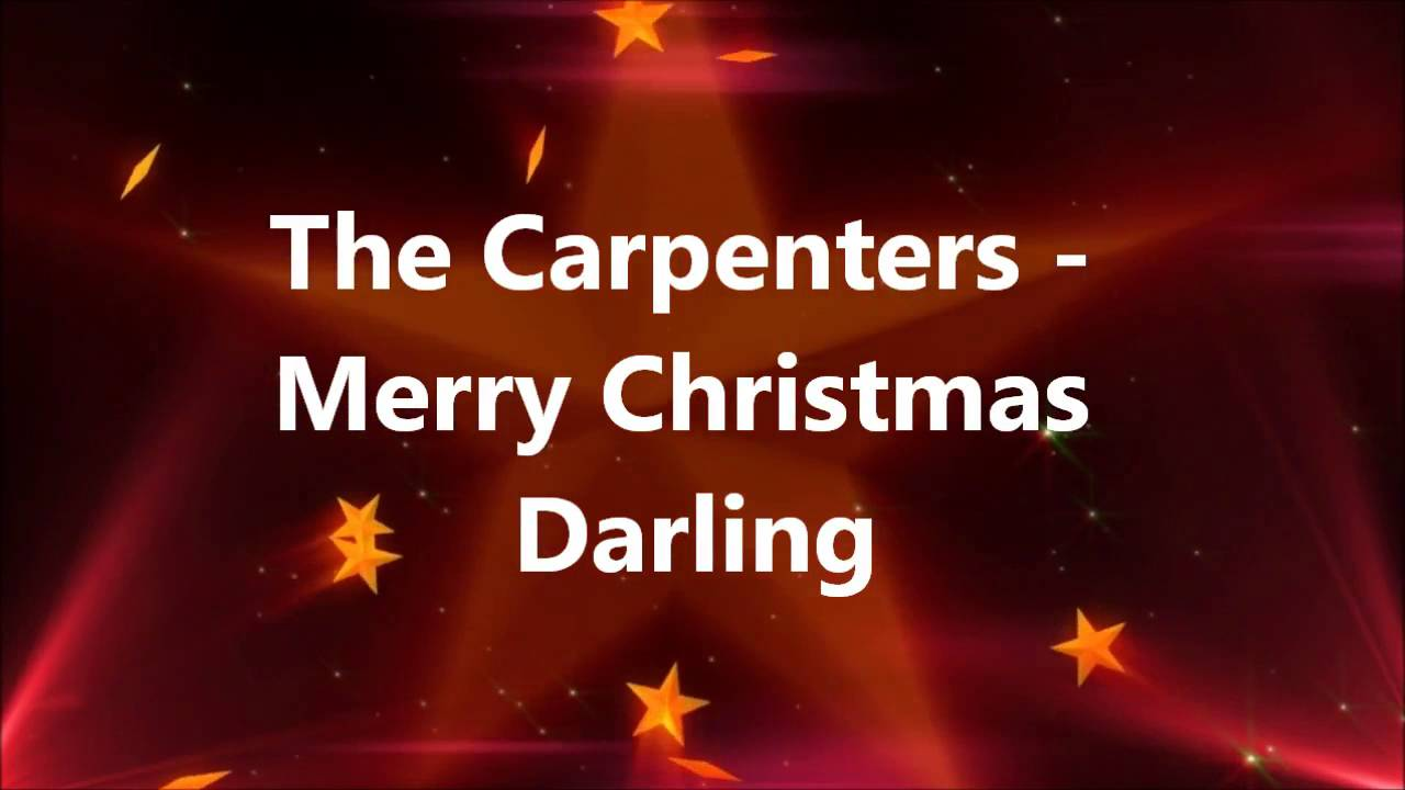 The Carpenters - Merry Christmas Darling - YouTube