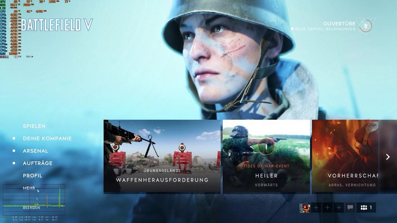 RTX 2080: Stuttering in Battlefield V, Battlefield 1, across many games
