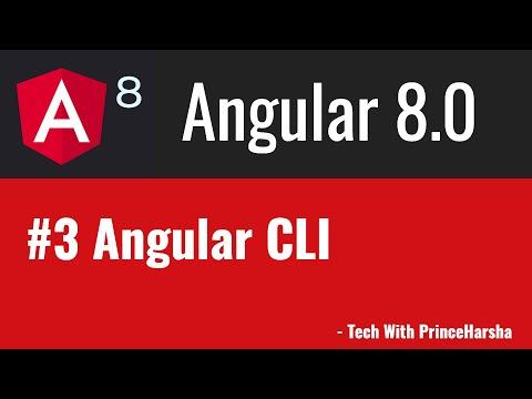 3.Angular 8 Tutorials - Angular CLI thumbnail