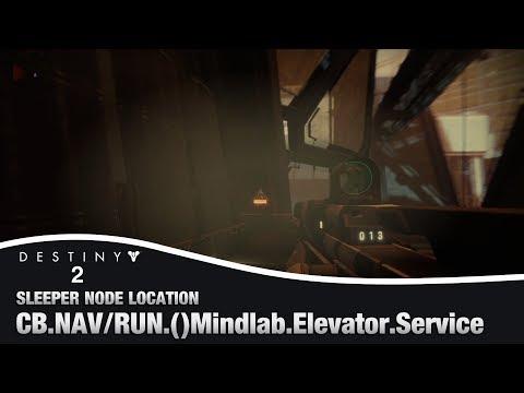 DESTINY 2 - Mindlab Elevator Service Sleeper Node Location |  (Override Frequency Cache)