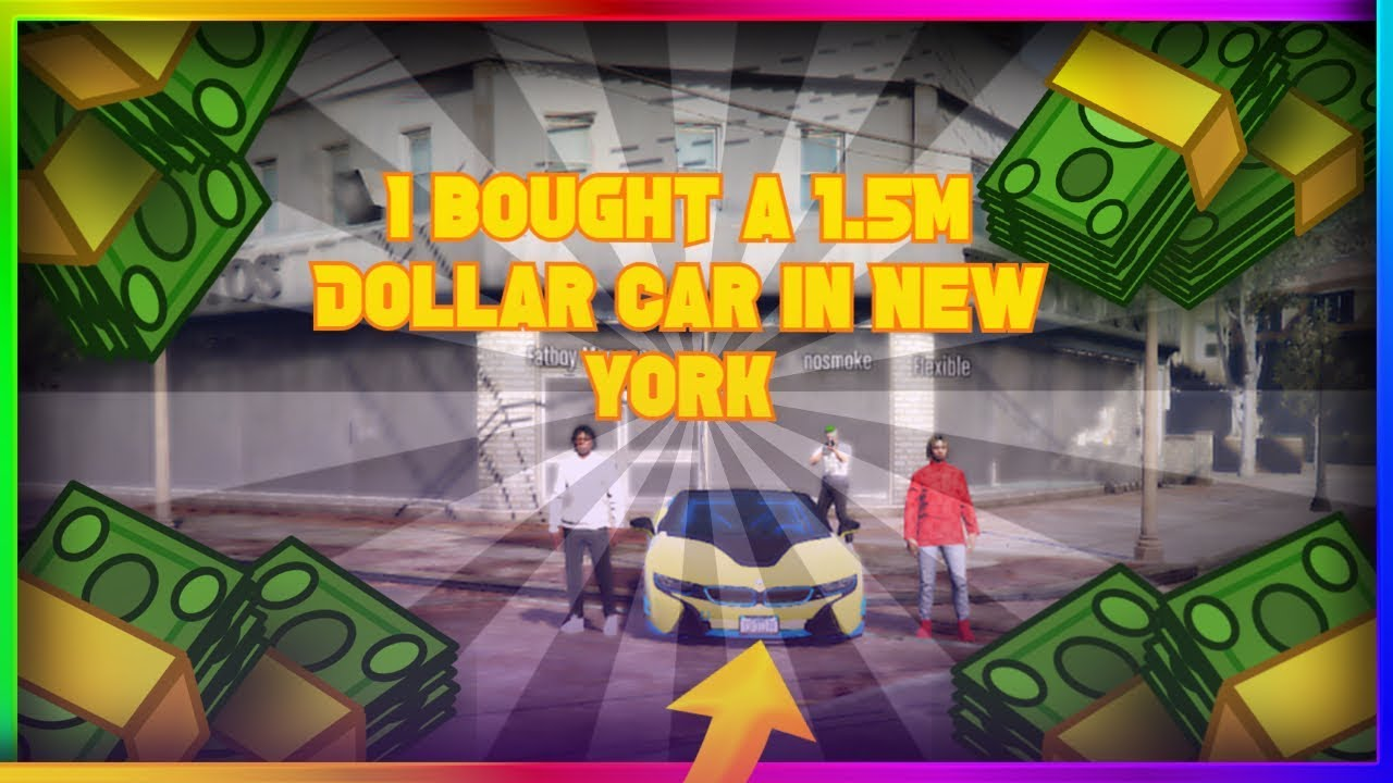 GTA 5 ROLEPLAY- I Went To New York And Bought a 1.5million Dollar BMW i8
